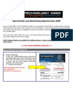 GITEX 09 Sponsorship Package - 2 Sep PDF