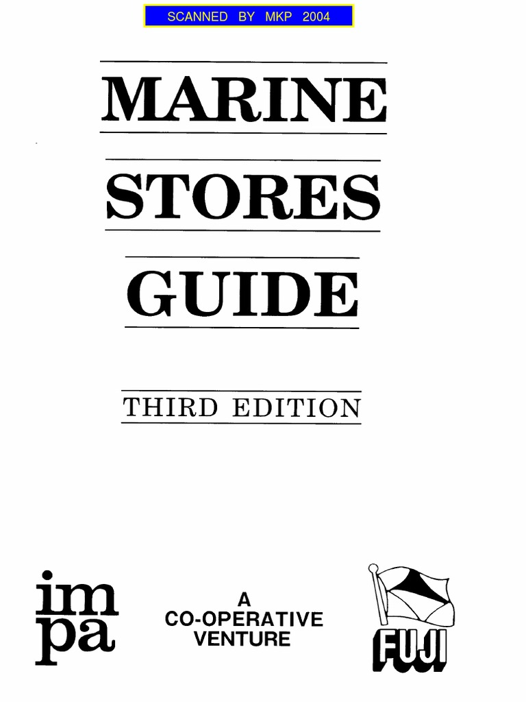 IMPA MARINE STORES GUIDE 3RD ED on