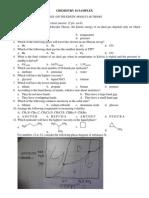 Sample(x)sample exam