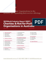 X0021 Charities & Not-For-Profit Organisations in Australia Industry Report