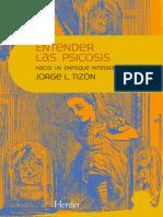 Indice Entender Las Psicosis, hacia una visión integradora, de Jorge Tizón