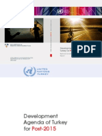 Development Agenda of Turkey for post-2015