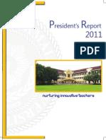 President Report Book 2011
