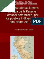 Agua y petróleo en la Amazonía - Beatriz Huertas – Programa Concertación