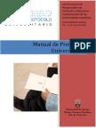 Manual de Protocolo Universitario