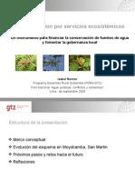 La Gestión sostenible del agua para consumo humano - Isabel Renner – GTZ
