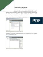 Configuracion De VPN En ISA.docx