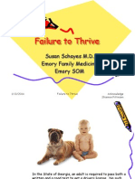 Failure to Thrive With Notes