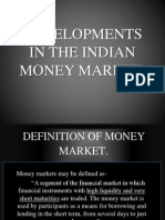 e1.Developments in the Indian Money Market