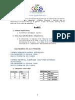 Convocatoria Copa Graneros 2014