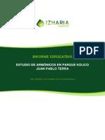 Informe Explicativo Armónicos PE GP1