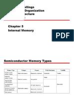 Arsitektur Komputer (Internal Memori)