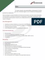 Magento Funktionen und Features