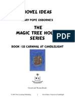 Magic Treehouse Carnival at Candlelight worksheet