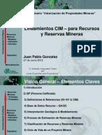 5 Lineamientos CIM RyR - JP Gonzalez - Gte Golder