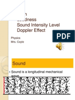 1 Sound, Pitch, Loudness, Doppler Effect