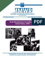 2007 CDC National Youth Risk Behavior Survey