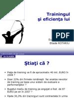 Training Eficienta