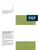 ACCIONES COMBINATIVAS CON FINALIZACIÓN PASES CORTOS, MEDIOS
