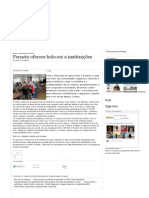 Jornal O Ponto - Ferneto oferece bolo-rei a instituições