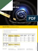 Magnetic Black-Star ureteral stent