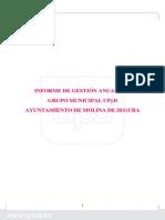 Informe Gestión 2013 GM