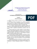 Statutul Universitatii Hyperion Din Bucuresti