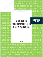 Manual do Diário de Classe
