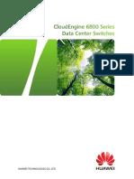 Huawei CloudEngine 6800 Switch Datasheet