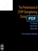 Performance of CFRP Under Real Fire