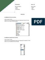 Manual Open Office