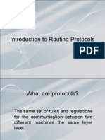 Introduction to Routing Protocols