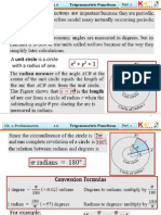 1.6 Trigonometric Functions Part One