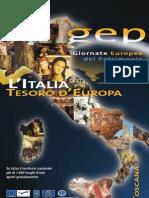 Giornate Europee del Patrimonio 2009 in Toscana