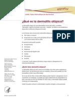 Dermatitis Atopica Ff Espanol