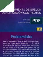 Densificación con Pilotes