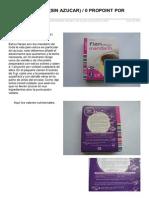 Flan Mandarin Sin Azucar 0 Propoint Por Sobre 5 Gr