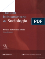 Tratado Latinoamericano de Sociologia