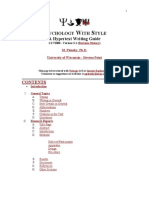 APA Style Guide- 3 Style
