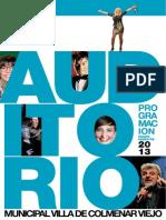 Programa Auditorio 2013 1