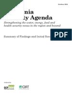 Amazonia Security Agenda