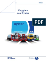 Italian Oyster Guide Leaflet
