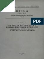 Ivo Bojanovski - Dolabelin sistem cesta u rimskoj provinciji Dalmaciji