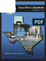 Texas Manual Revised July 2012