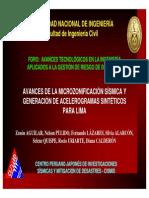 AVANCES-MICROZONIFICACIÓN-LIMA-CIP
