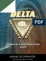 A020 Manual Delta Carro