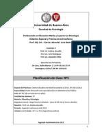 Planificación Clase 5 - De Caro & Domínguez
