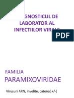 Diagnosticul de Laborator Al Infectiilor Virale