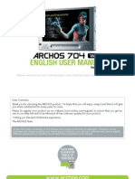 English - User Manual - Archos 704 Wifi - V1