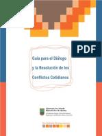 Guia Para El Dialogo y La Resolucion de Conflictos Cotidianos